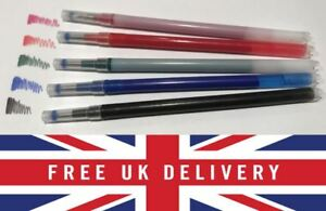 New Erasable Rollerball Refills Gel Pen to fit Pilot Frixion Pen 0.7mm 3 6 pack