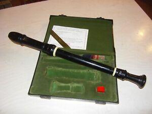 Blockflöte Altblockflöte Moeck Rottenburgh Nr 539 19855 Ebenholz Grenadill flute