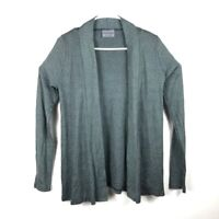 Michael Stars Womens Cardigan Sweater Gray Heathered Long Sleeve Open Front OS