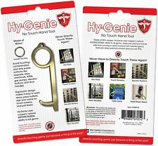 Hy-Genie Brass No Touch Ergonomic Design Hand Tool One Size Brass NEW Packaged