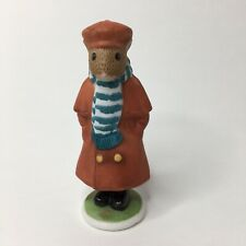 The Woodmouse Family George 3� Porcelain Figurine Franklin Mint 1985