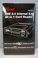 "Rosewill USB 2.0 Internal 3.5"" All in 1 Card Reader for PC"