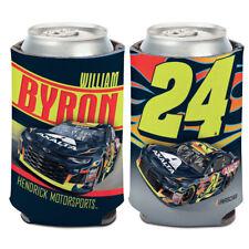 William Byron 2018 Axalta #24 Car Can Cooler 12 oz. NASCAR Koozie