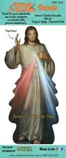 Car Decal Vinyl in Color Divine Mercy Jesus I Trust in You