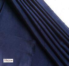 bonne qualité bleu marine Mobilier velours de coton 340gm ² 140 cm