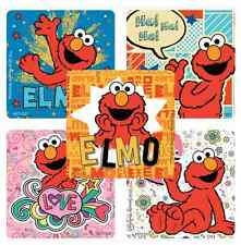 "30 Elmo ( Sesame Street ) Stickers, 2.5""x2.5"" ea., Party Favors"