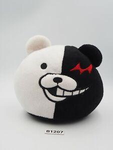 "Super Danganronpa B1207 Monokuma Remote Phone Stand Plush 5"" Toy Doll Japan"