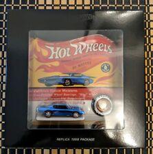 2018 Hot Wheels RLC 50th HWC Original 16 Custom Barracuda 1:64 Limited Edition