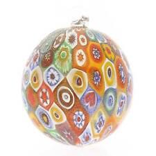 GlassOfVenice Murano Glass Christmas Ornament - Gold Millefiori