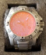 Invicta Reserve Men's Excursion Tinted Crystal Swiss Chrono Bracelet Watch RARE