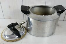 Vintage Minitmaid Pressure Cooker Deep Fryer Chicken Heavy Cast Aluminum