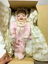 VTG ASHTON DRAKE MEAGAN ROSE 1ST IN YOLANDA'S HEAVEN SCENT BABIES ORIGINAL BOX