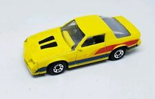 Matchbox 1988 Vintage Camaro IROC-Z 28 Yellow  Made in MACAU LOOSE