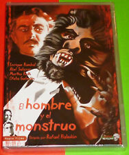 EL HOMBRE Y EL MONSTRUO - Rafael Baledón / Abel Salazar DVD R ALL Precintada