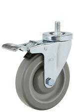 "Total Lock Stem Caster: TS 1/2-13x1. Polyurethane Wheel: 4"" x 1-1/4"". Bearing."