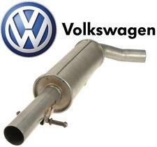 NEW Genuine VW Exhaust Midpipe Silencer Resonator Muffler Mk4 1.8T VR6 Jetta GTI