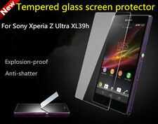 Tempered Glass Screen Protector Guard 2.5D Curve For Sony Xperia Z Ultra L39H