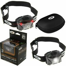NGT FISHING LIGHT HEAD TORCH RECHARGEABLE CASE 140 LUMENS LAMP HUNTING XPR
