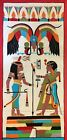 Old Egyptian Applique Tapestry Cotton Panel Circa 1940