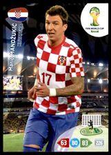 Panini Brazil 2014 Adrenalyn XL Mario Mandžuki? Croatia Base card
