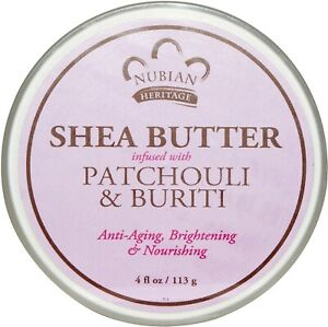 Patchouli & Buriti Infused Sea Butter by Nubian Heritage, 4 oz
