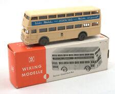 Wiking HO 1:87 Berliner Doppeldeck Bus Nr.72d 1970s *BOXED* (3)