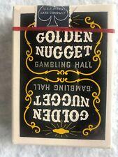 Vintage Golden Nugget Playing Cards Sealed