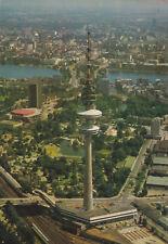 AK, Hamburg, Luftbildteilübersicht mit Fernsehturm, um 1980