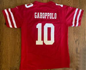San Francisco 49ers Jimmy Garoppolo Nike Super Bowl LIV Game Jersey - Y Medium