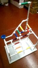 Play Gym  Perch  Stand **Roller Coaster style!  ** PAN INCLUDED!
