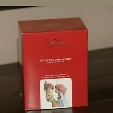 2020 Hallmark Lmtd Edition Precious Moment Disney Peter Pan & Wendy Ornament Nib