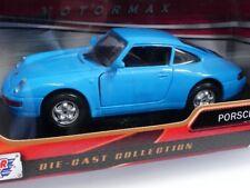1/24 motor max Porsche 911 azul pálido 317595