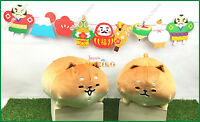 Yeast Ken Shiba Koppe Plush Yeast Ken Cute Soft Baguette Bread Stuffed Pair Set