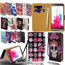Flip Wallet Card Stand Leather Case Cover For LG Optimus 2 L1/L2/L3/L4/L5/L7/L9