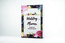 Wedding Planner Book- Diary Organiser Checklist- Gift for Engaged couple