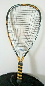 Wilson Hyperion Loco Power Strings Racquetball Racket Orange, Black, White