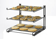 Tier Cookies Cupcakes Pastry Cooling Mesh Wire Stand Storage Shelf Holder Rack