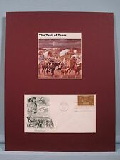 Cherokees & The Trail of Tears & First day Cover