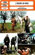 FICHE CINEMA : L'OEUVRE AU NOIR Maria Volonté,Frey,Karina,Delvaux 1988 The Abyss