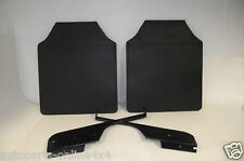 Land Rover Defender 110/130 REAR MUD FLAPS AND BRACKETS (PAIR) - MFK01