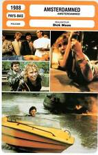 AMSTERDAMNED - Dick Maas (Fiche Cinéma) 1988