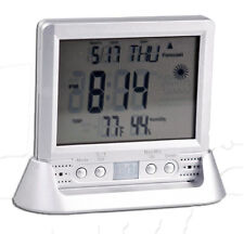 Weather Clock SPY Hidden Camera Motion Detection Nanny Cam  Video Home Security