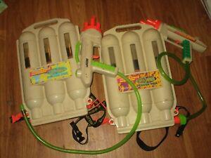 VINTAGE SUPER SOAKER SUPER CHARGER POWER PAK LOT LOT RARE !!!!
