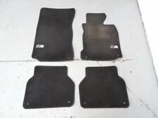 """BMW E39 5 Series - Set of 4 Tailored Black Floor Mats with """"M"""" logo #077"""