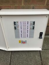 Merlin Gerin 110V Volt Distribution Board Box Fuse Consumer Unit 8 Way