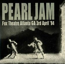 Pearl Jam-Fox Theatre. Atlanta'94 2 CD NEUF