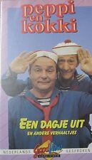 PEPPI EN KOKKI - EEN DAGE UIT EN ANDERE VERHAALTJES  - VHS