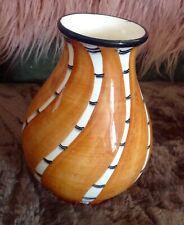Majolika Vase  Bauern Keramik Schramberg, Braun