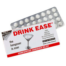 Drink Ease Hangover Remedy 32 Tablets Alcohol Recovery Aid Homeopathic Medicine