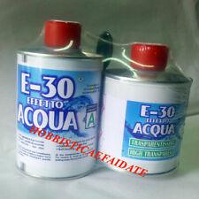 PROCHIMA E-30 RESINA EPOSSIDICA TRASPARENTE EFFETTO ACQUA A + B gr. 320